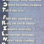 8 prieteni de care avem nevoie