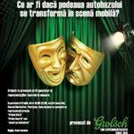 Teatru în autobuz la Timișoara