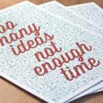 Iar îmi trebuie timp