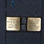 Pietre aurite în memoria evreilor