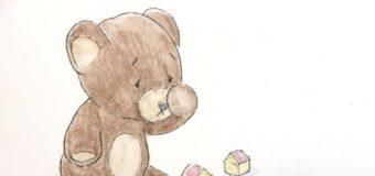 Un ursuleț plânge